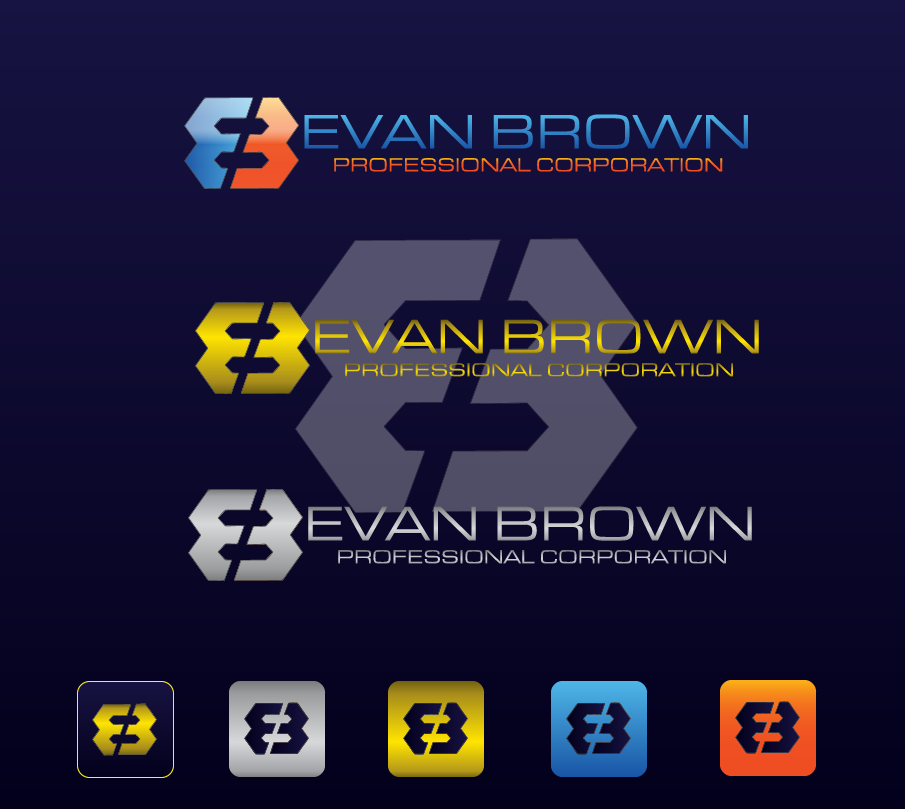 Logo Design by brands_in - Entry No. 117 in the Logo Design Contest Inspiring Logo Design for Evan Brown Professional Corporation.