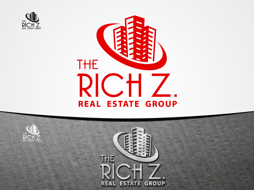 Logo Design by Richard Soriano - Entry No. 390 in the Logo Design Contest The Rich Z. Real Estate Group Logo Design.