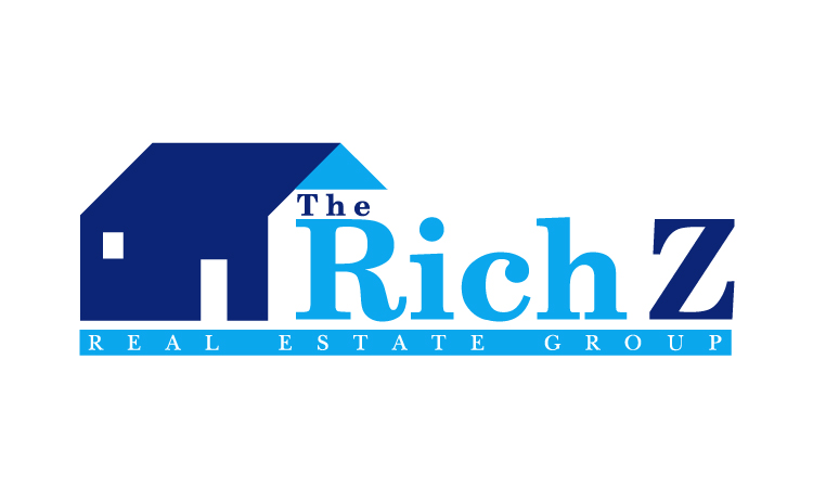 Logo Design by Mobin Asghar - Entry No. 393 in the Logo Design Contest The Rich Z. Real Estate Group Logo Design.