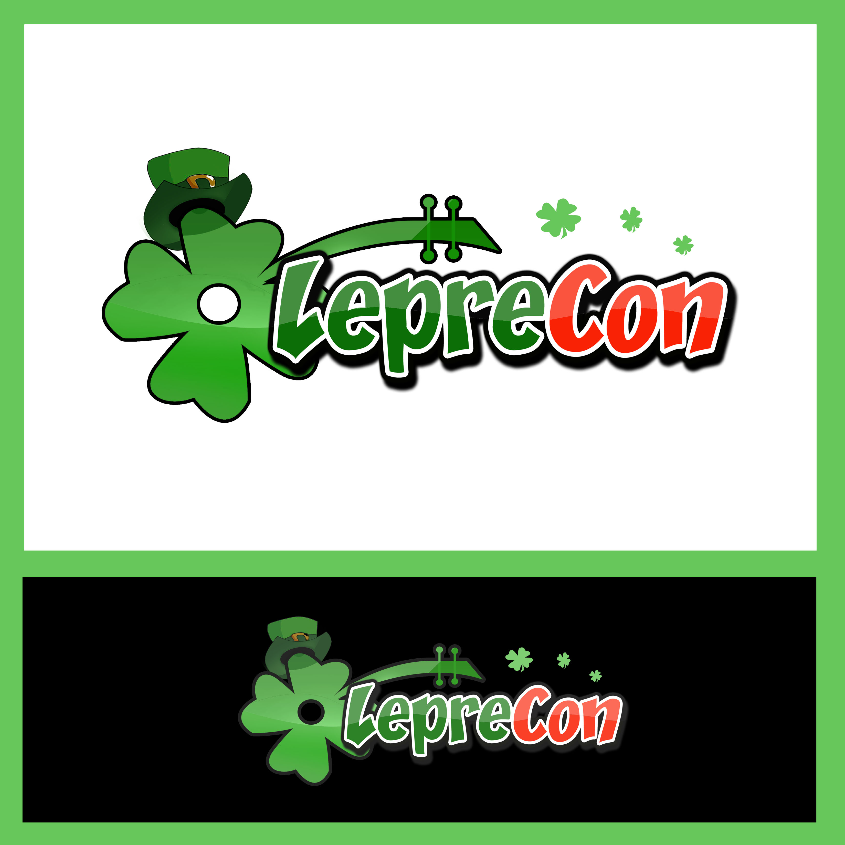 Logo Design by Allan Esclamado - Entry No. 54 in the Logo Design Contest FUN Logo Design for *LepreCon* St. Patrick's Event [WILL END EARLY JAN. 26].