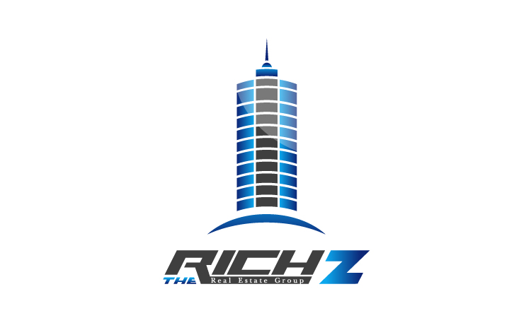 Logo Design by Mobin Asghar - Entry No. 394 in the Logo Design Contest The Rich Z. Real Estate Group Logo Design.