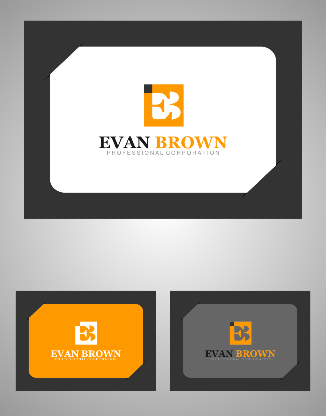 Logo Design by RasYa Muhammad Athaya - Entry No. 119 in the Logo Design Contest Inspiring Logo Design for Evan Brown Professional Corporation.