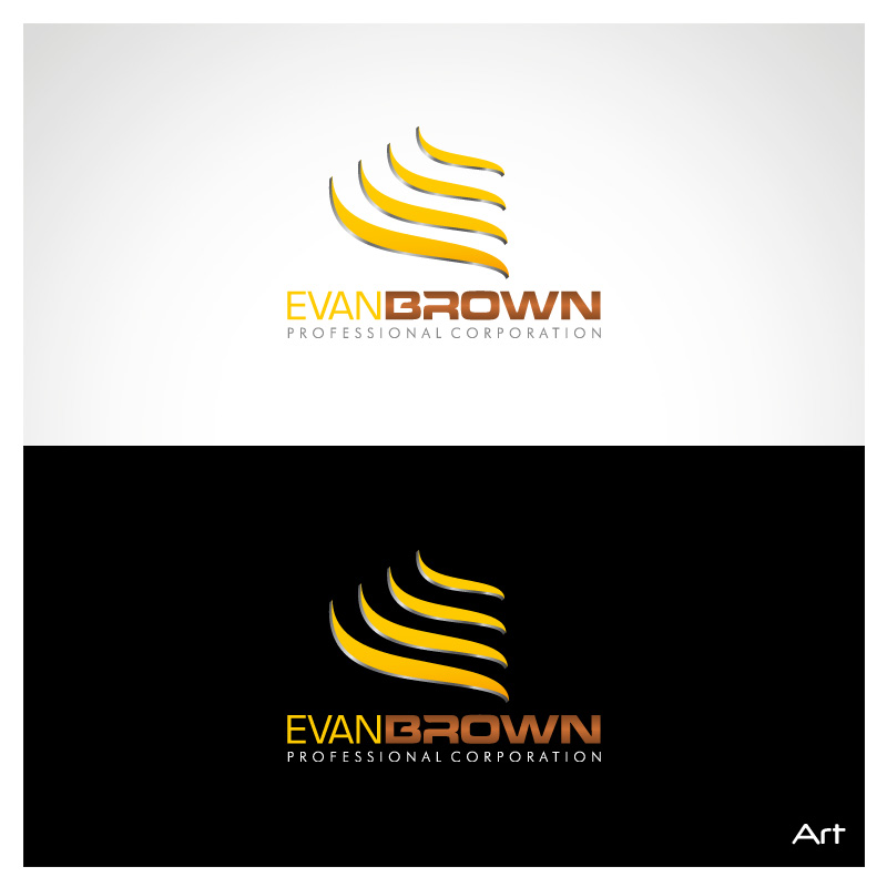 Logo Design by Puspita Wahyuni - Entry No. 120 in the Logo Design Contest Inspiring Logo Design for Evan Brown Professional Corporation.