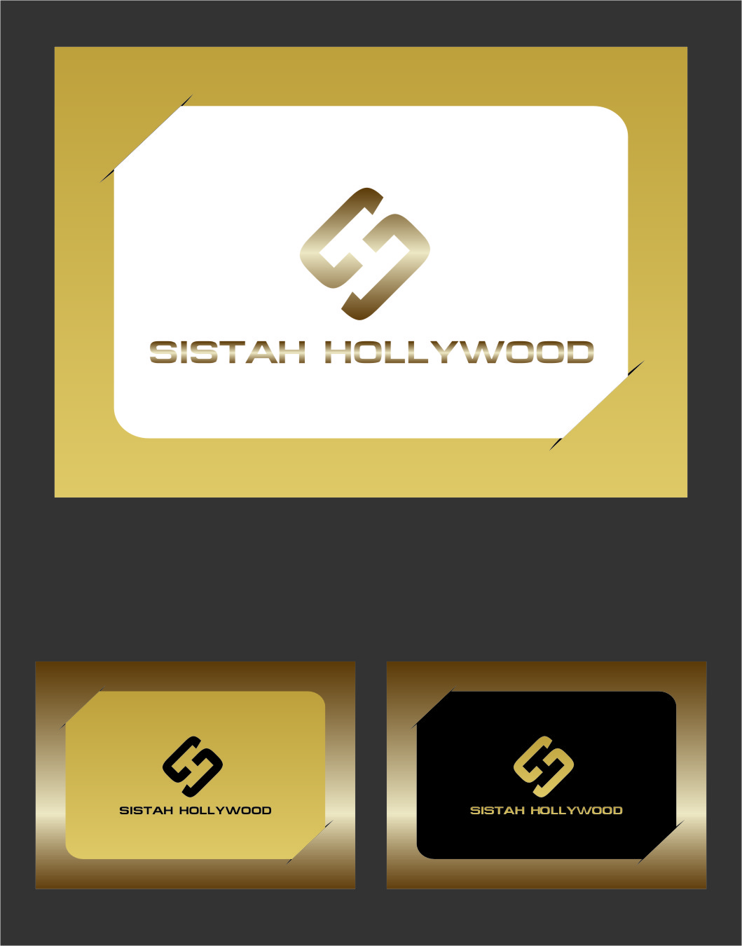 Logo Design by RasYa Muhammad Athaya - Entry No. 43 in the Logo Design Contest New Logo Design for Sistah Hollywood.