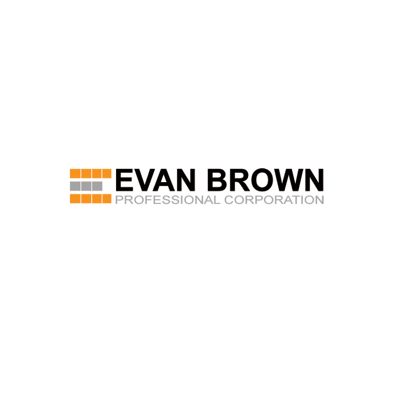 Logo Design by Private User - Entry No. 123 in the Logo Design Contest Inspiring Logo Design for Evan Brown Professional Corporation.