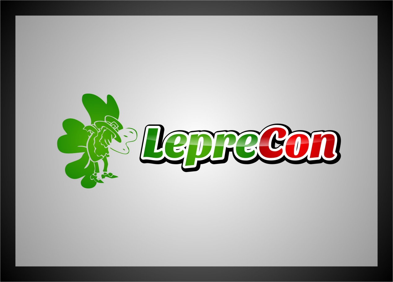 Logo Design by Ngepet_art - Entry No. 55 in the Logo Design Contest FUN Logo Design for *LepreCon* St. Patrick's Event [WILL END EARLY JAN. 26].