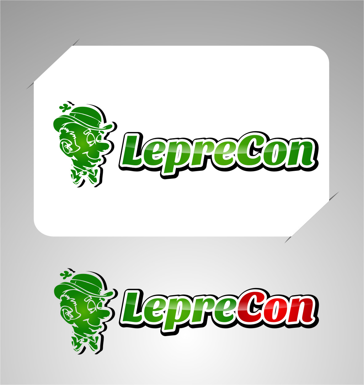 Logo Design by RasYa Muhammad Athaya - Entry No. 56 in the Logo Design Contest FUN Logo Design for *LepreCon* St. Patrick's Event [WILL END EARLY JAN. 26].