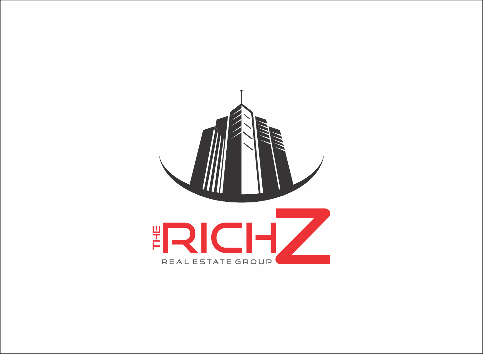 Logo Design by Armada Jamaluddin - Entry No. 396 in the Logo Design Contest The Rich Z. Real Estate Group Logo Design.