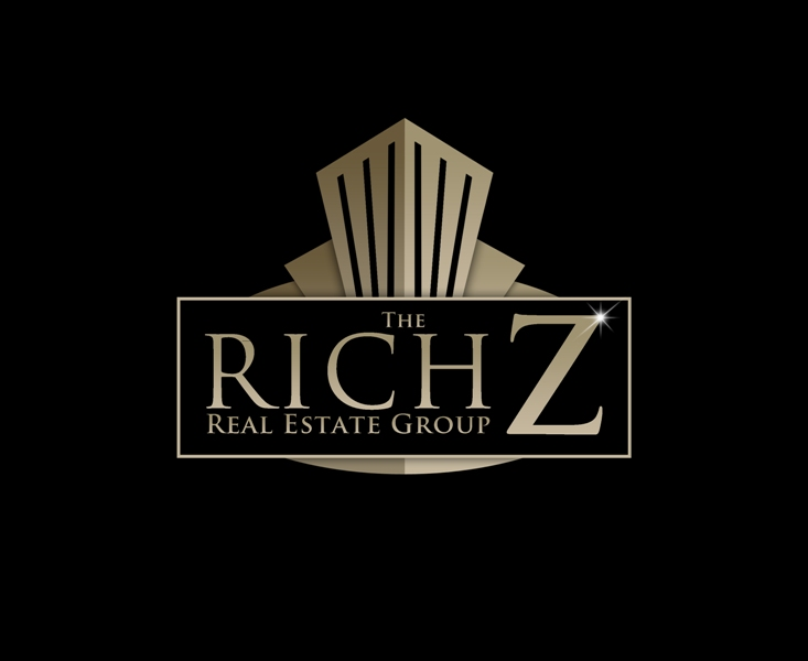 Logo Design by Juan_Kata - Entry No. 397 in the Logo Design Contest The Rich Z. Real Estate Group Logo Design.