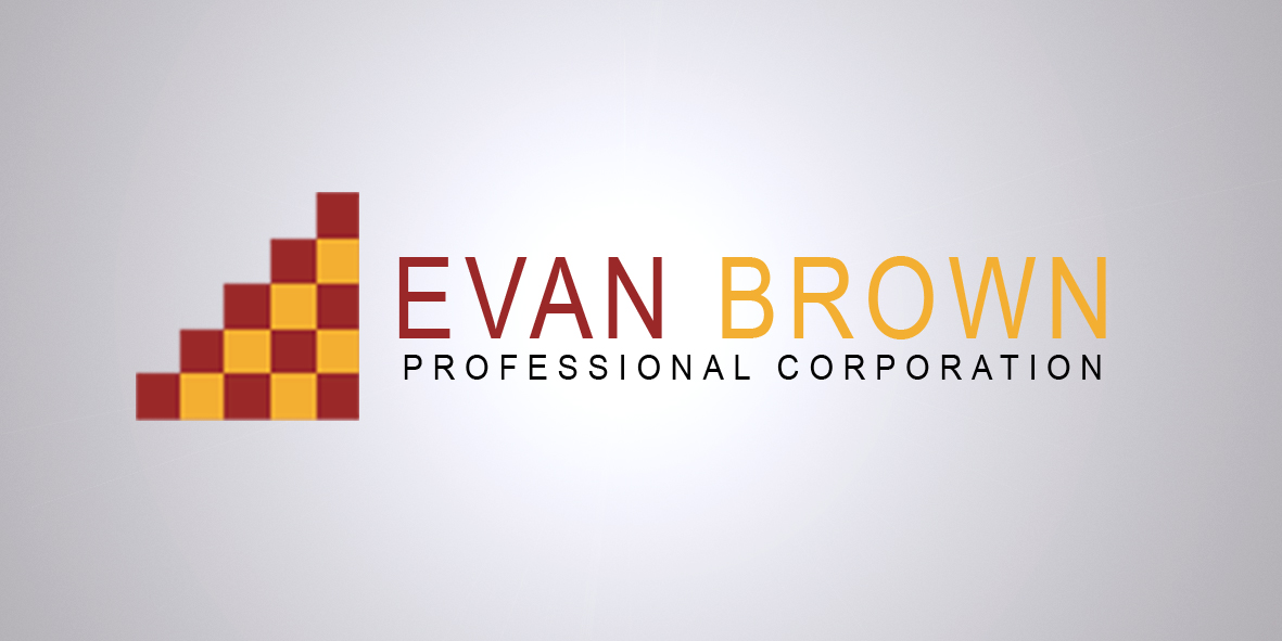 Logo Design by Vineeth K V - Entry No. 128 in the Logo Design Contest Inspiring Logo Design for Evan Brown Professional Corporation.