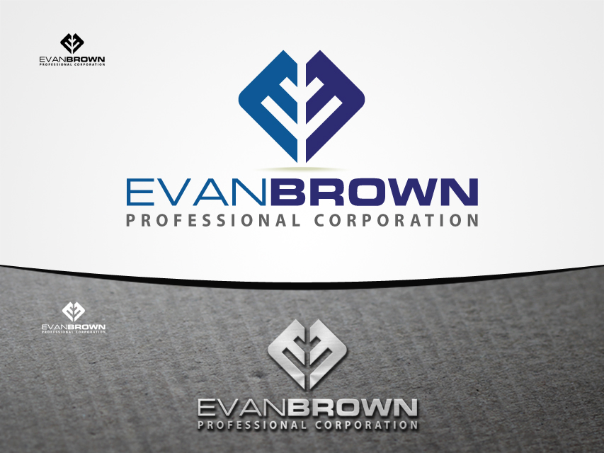 Logo Design by Richard Soriano - Entry No. 129 in the Logo Design Contest Inspiring Logo Design for Evan Brown Professional Corporation.
