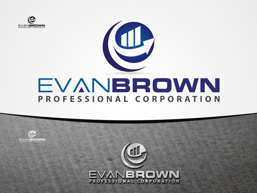 Logo Design by Richard Soriano - Entry No. 131 in the Logo Design Contest Inspiring Logo Design for Evan Brown Professional Corporation.