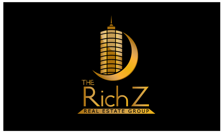 Logo Design by Mobin Asghar - Entry No. 400 in the Logo Design Contest The Rich Z. Real Estate Group Logo Design.