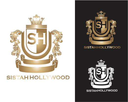 Logo Design by ronny - Entry No. 50 in the Logo Design Contest New Logo Design for Sistah Hollywood.