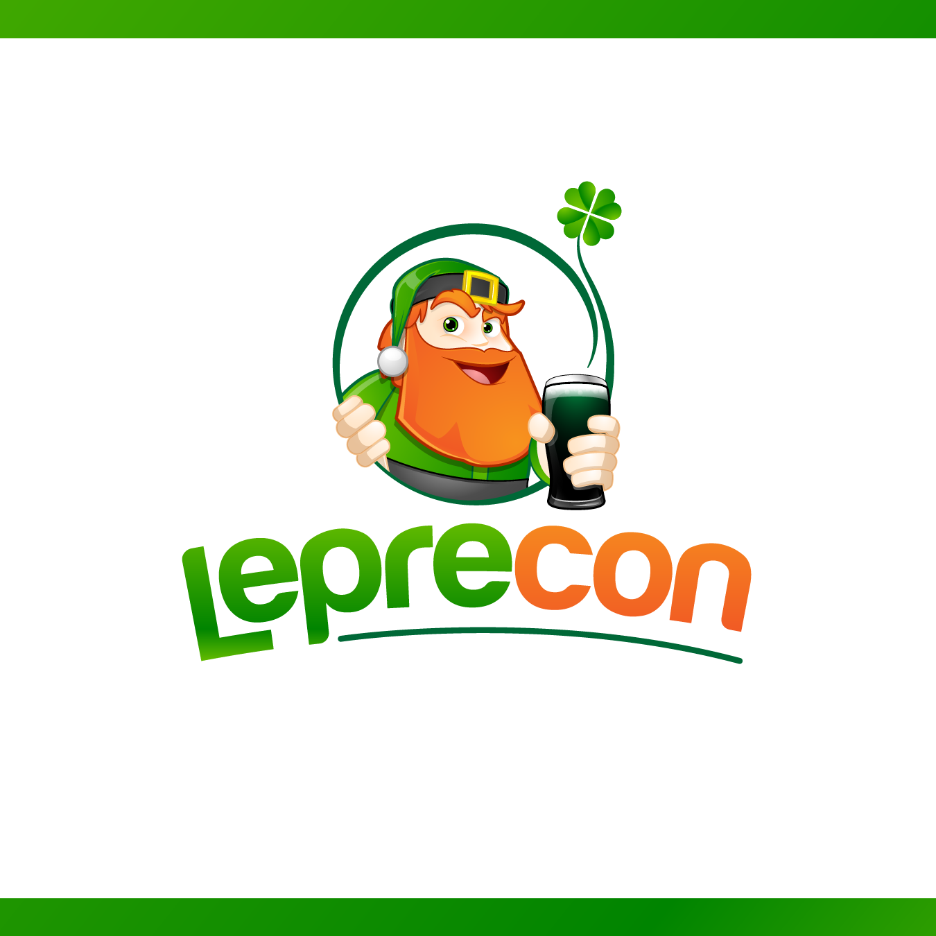 Logo Design by chinie05 - Entry No. 60 in the Logo Design Contest FUN Logo Design for *LepreCon* St. Patrick's Event [WILL END EARLY JAN. 26].