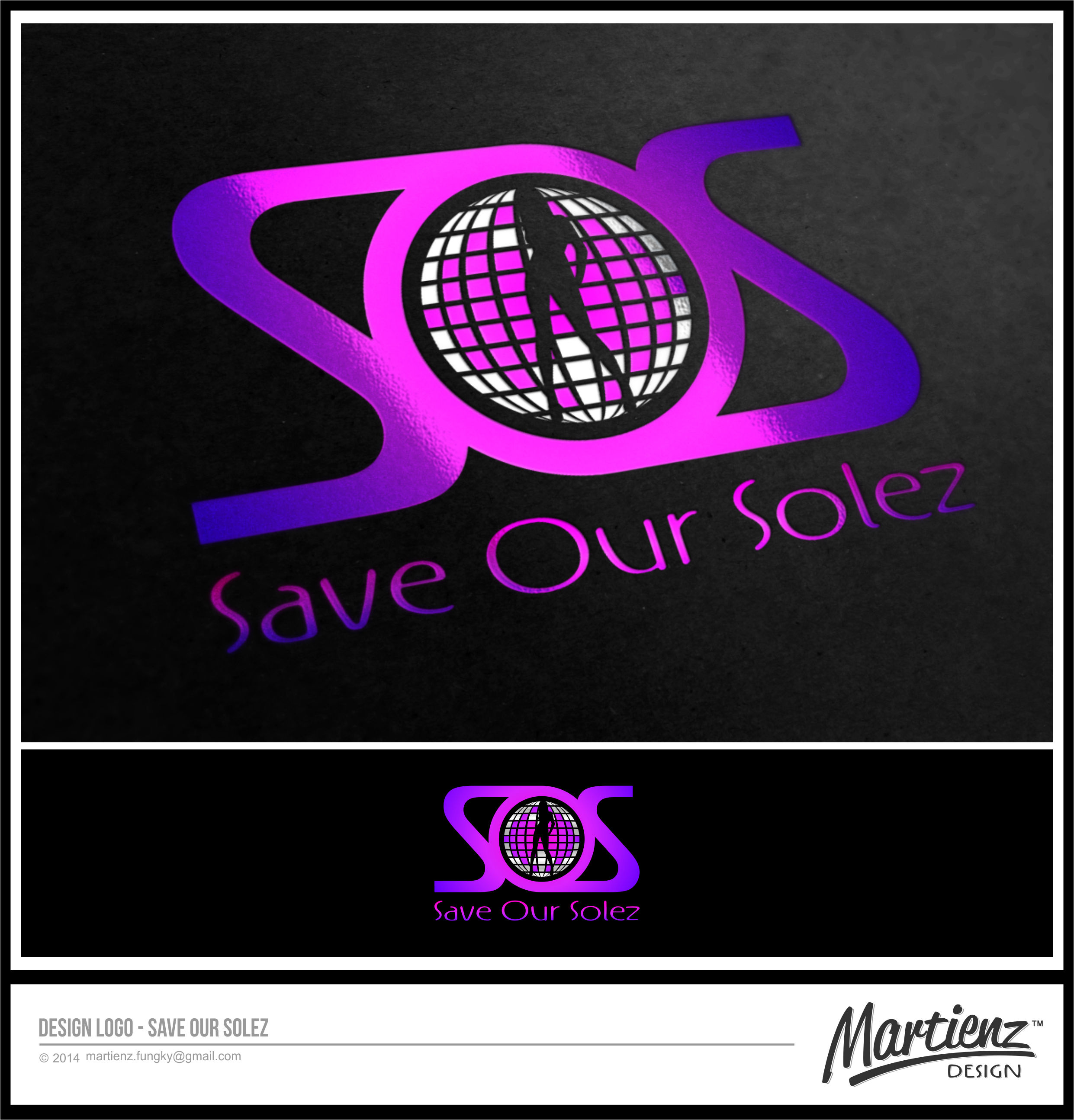 Logo Design by SHENDI MARTIN M - Entry No. 61 in the Logo Design Contest Captivating Logo Design for Save Our Solez.
