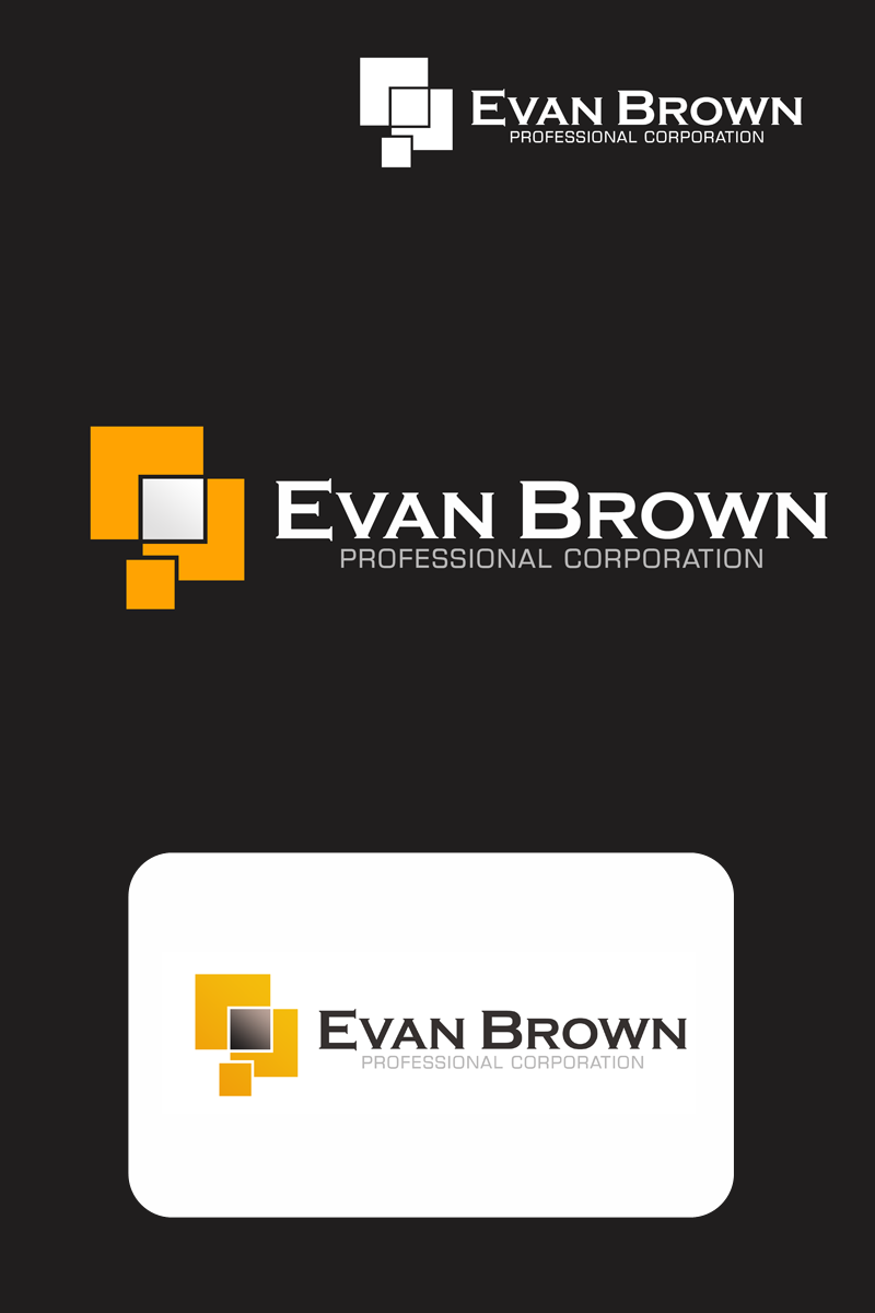 Logo Design by Private User - Entry No. 135 in the Logo Design Contest Inspiring Logo Design for Evan Brown Professional Corporation.