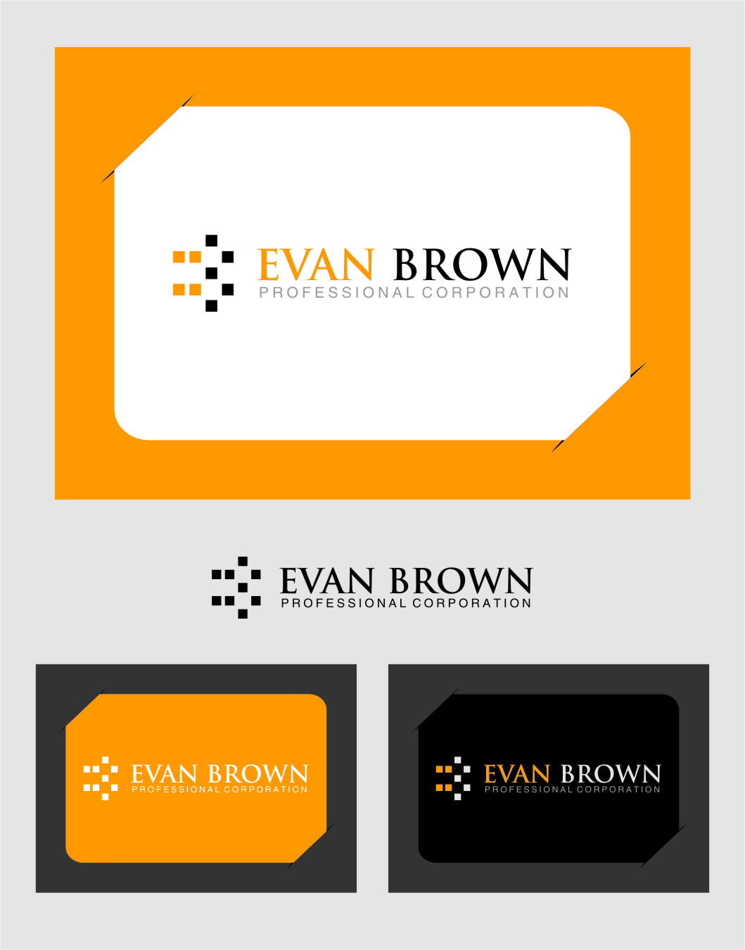 Logo Design by RasYa Muhammad Athaya - Entry No. 137 in the Logo Design Contest Inspiring Logo Design for Evan Brown Professional Corporation.
