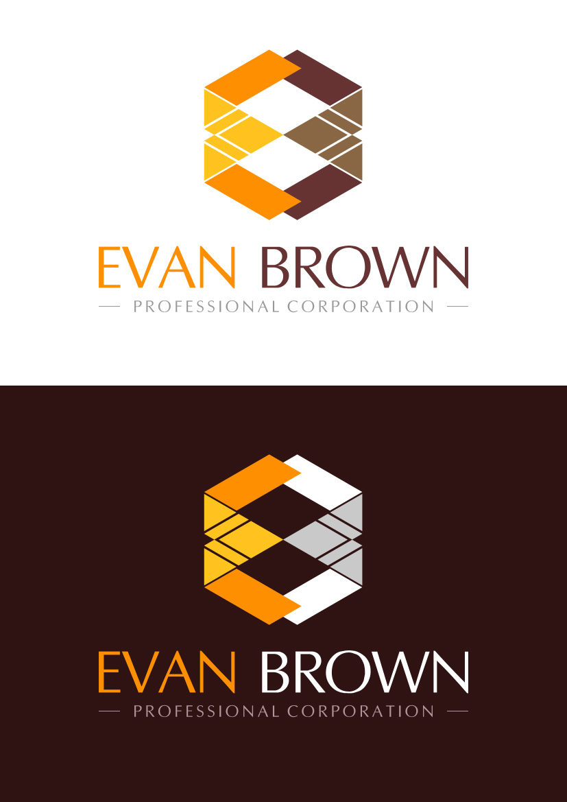 Logo Design by Indika Kiriella - Entry No. 138 in the Logo Design Contest Inspiring Logo Design for Evan Brown Professional Corporation.