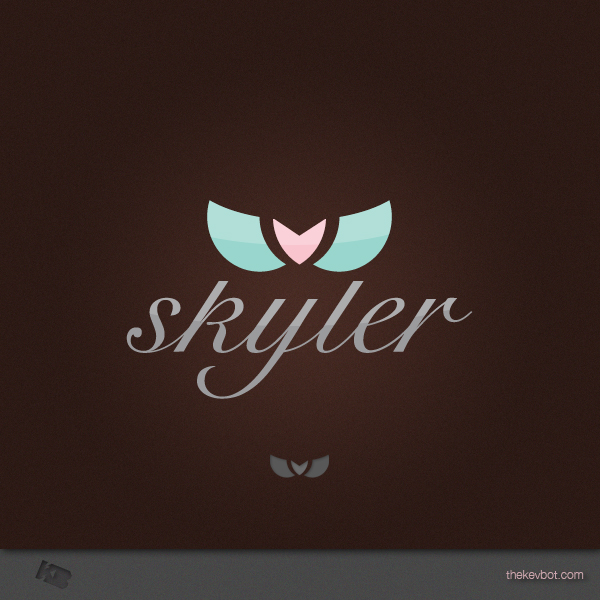 Logo Design by Kevin  Haag - Entry No. 4 in the Logo Design Contest Skyler Clothing Logo.