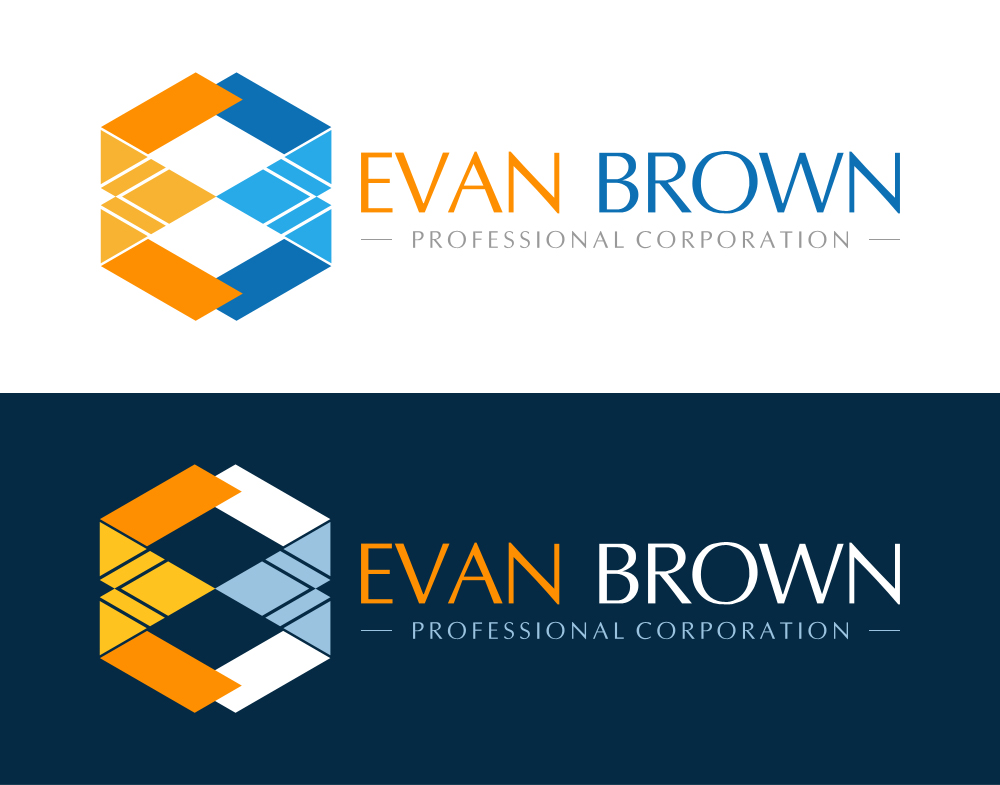 Logo Design by Indika Kiriella - Entry No. 140 in the Logo Design Contest Inspiring Logo Design for Evan Brown Professional Corporation.