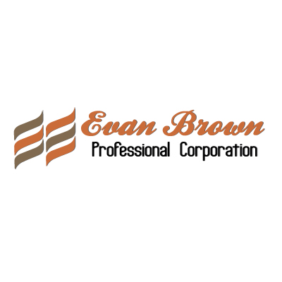 Logo Design by Private User - Entry No. 142 in the Logo Design Contest Inspiring Logo Design for Evan Brown Professional Corporation.