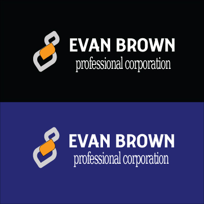 Logo Design by Private User - Entry No. 143 in the Logo Design Contest Inspiring Logo Design for Evan Brown Professional Corporation.