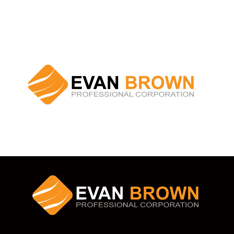 Logo Design by Private User - Entry No. 147 in the Logo Design Contest Inspiring Logo Design for Evan Brown Professional Corporation.
