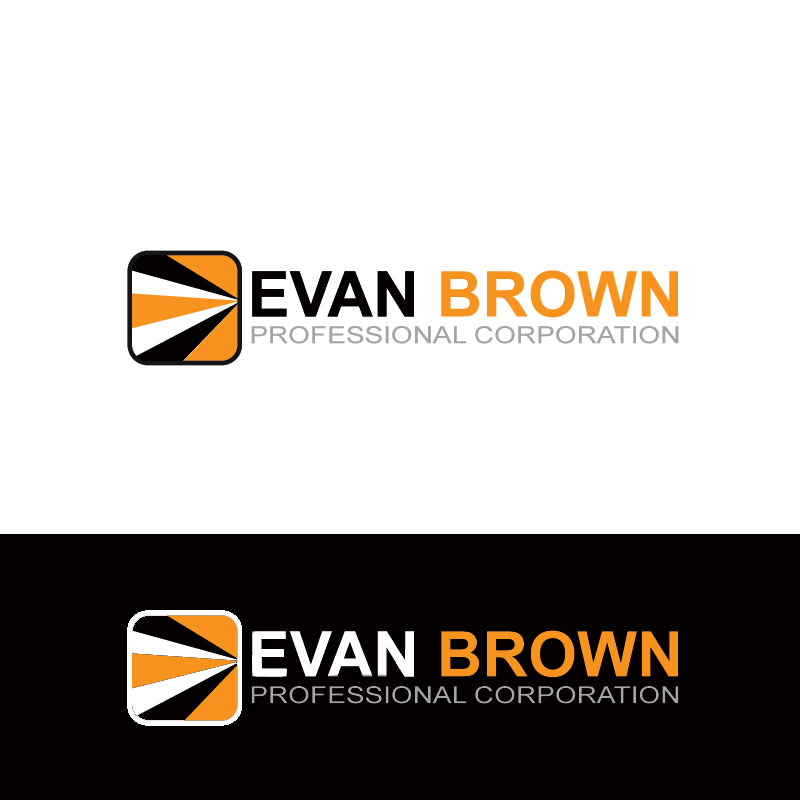 Logo Design by Private User - Entry No. 149 in the Logo Design Contest Inspiring Logo Design for Evan Brown Professional Corporation.