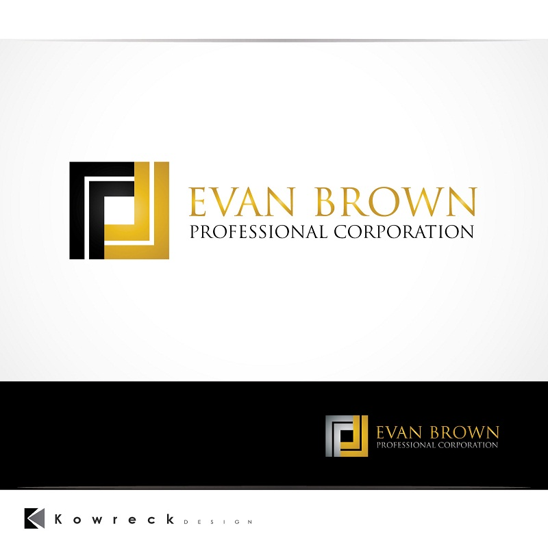 Logo Design by kowreck - Entry No. 153 in the Logo Design Contest Inspiring Logo Design for Evan Brown Professional Corporation.