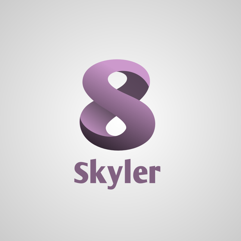 Logo Design by Rudy - Entry No. 7 in the Logo Design Contest Skyler Clothing Logo.