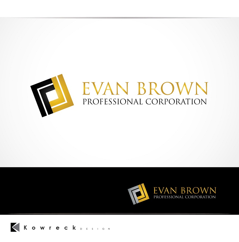 Logo Design by kowreck - Entry No. 154 in the Logo Design Contest Inspiring Logo Design for Evan Brown Professional Corporation.