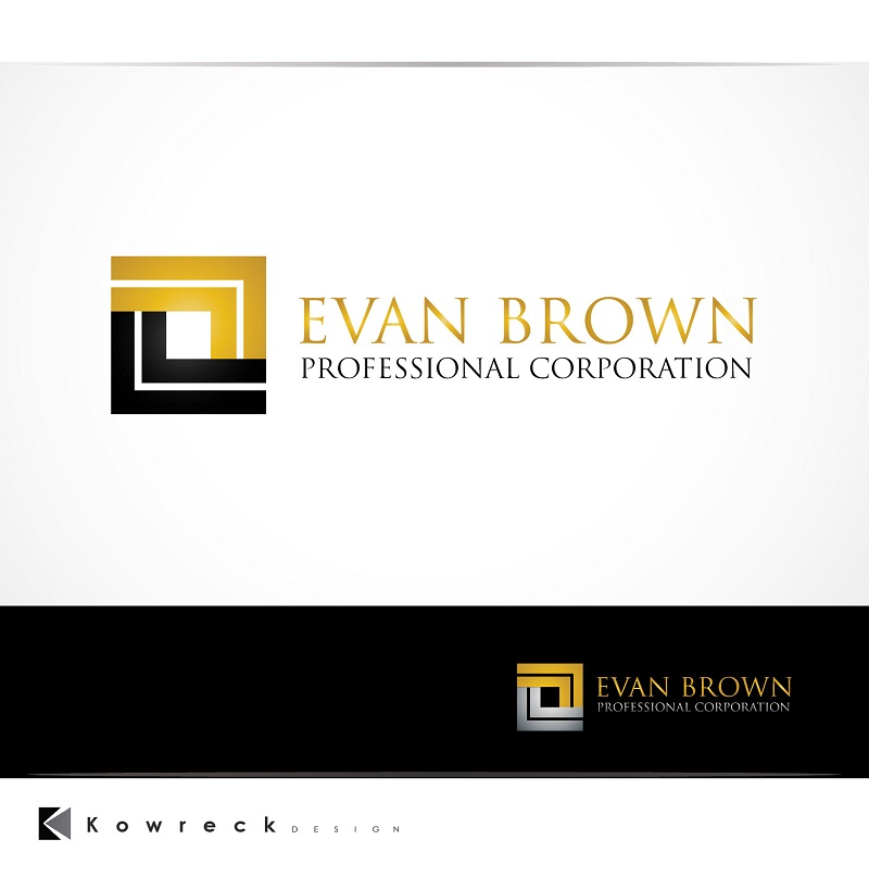 Logo Design by kowreck - Entry No. 155 in the Logo Design Contest Inspiring Logo Design for Evan Brown Professional Corporation.