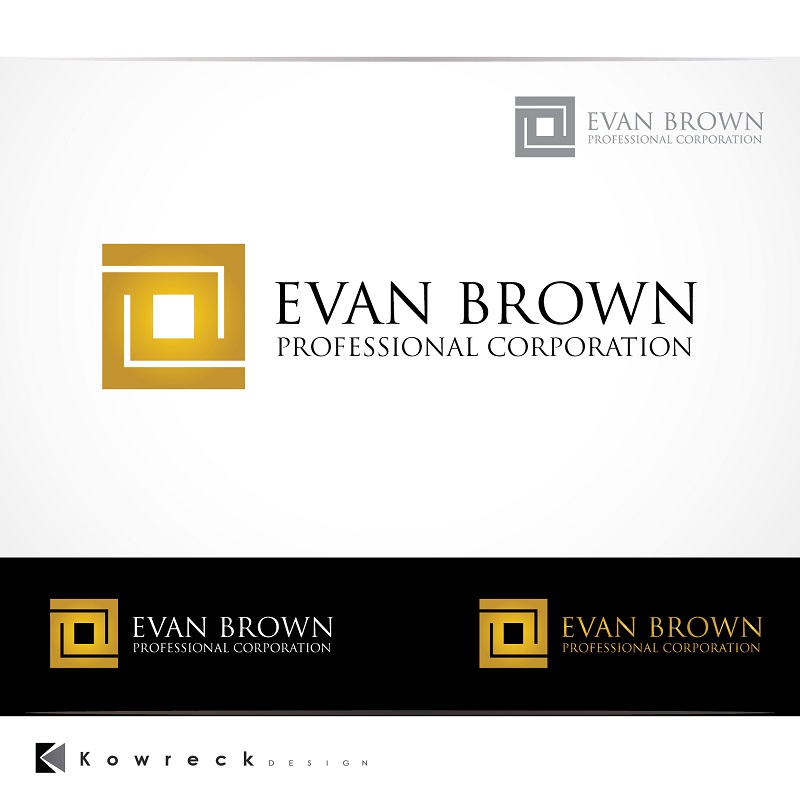 Logo Design by kowreck - Entry No. 156 in the Logo Design Contest Inspiring Logo Design for Evan Brown Professional Corporation.