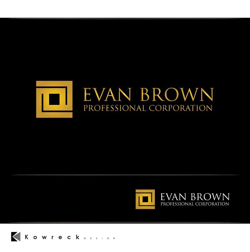 Logo Design by kowreck - Entry No. 157 in the Logo Design Contest Inspiring Logo Design for Evan Brown Professional Corporation.