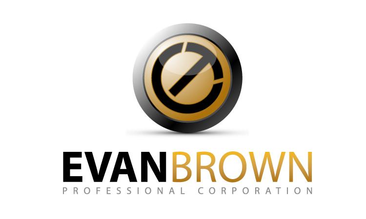Logo Design by Mobin Asghar - Entry No. 158 in the Logo Design Contest Inspiring Logo Design for Evan Brown Professional Corporation.