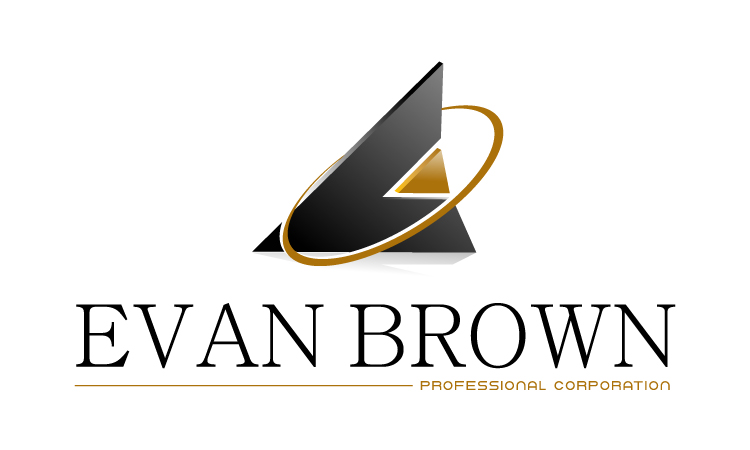 Logo Design by Mobin Asghar - Entry No. 159 in the Logo Design Contest Inspiring Logo Design for Evan Brown Professional Corporation.
