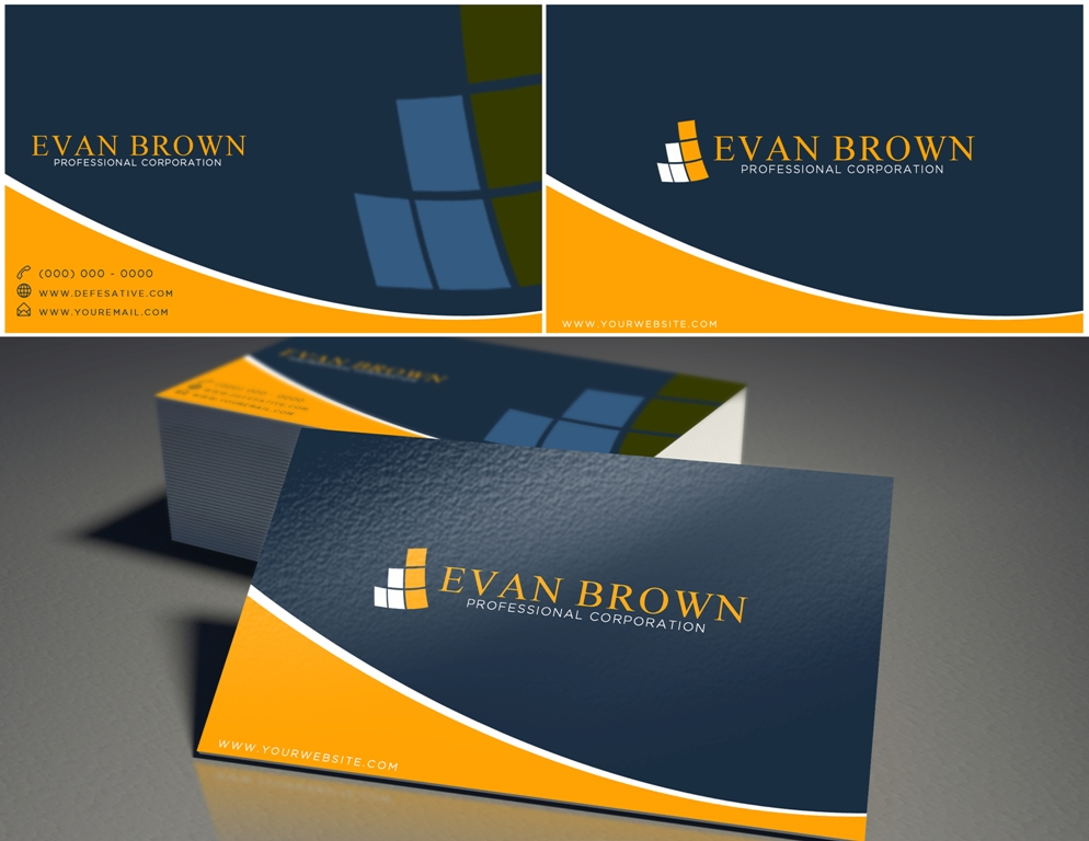 Logo Design by Juan_Kata - Entry No. 160 in the Logo Design Contest Inspiring Logo Design for Evan Brown Professional Corporation.
