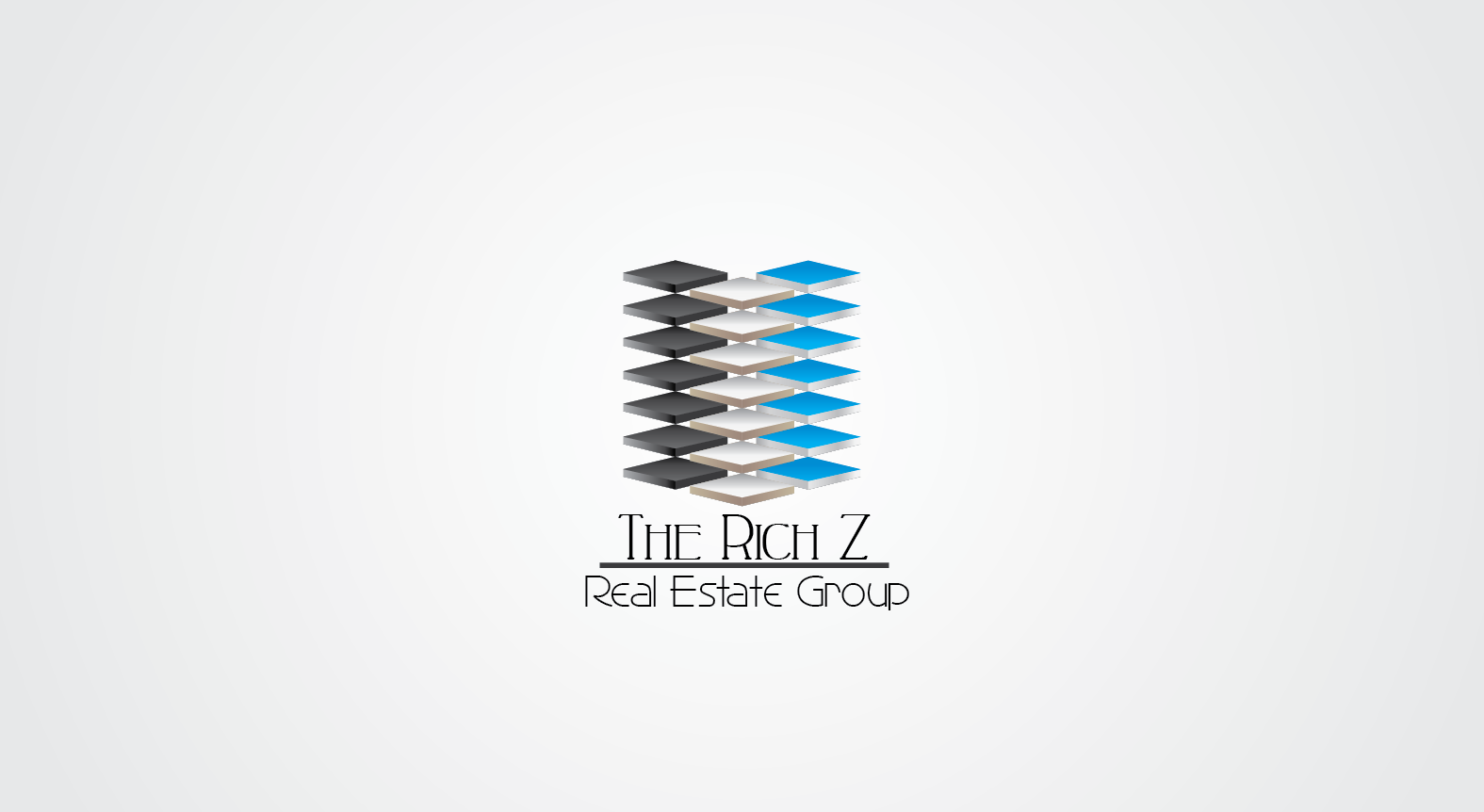 Logo Design by Private User - Entry No. 409 in the Logo Design Contest The Rich Z. Real Estate Group Logo Design.