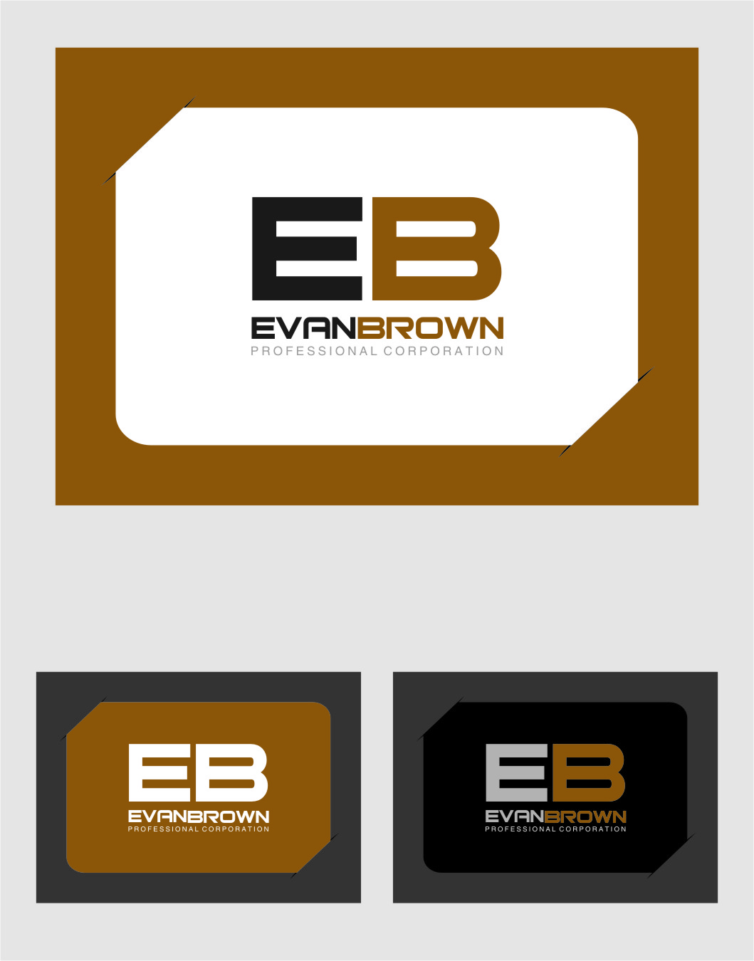 Logo Design by Ngepet_art - Entry No. 163 in the Logo Design Contest Inspiring Logo Design for Evan Brown Professional Corporation.
