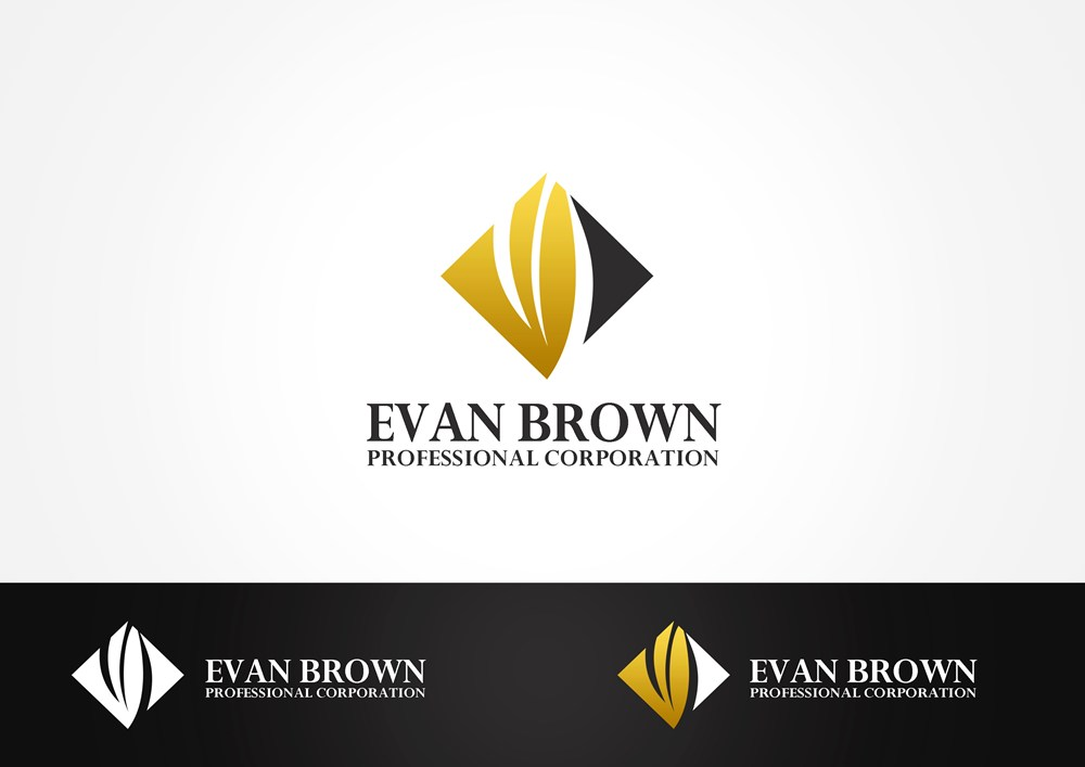 Logo Design by Respati Himawan - Entry No. 168 in the Logo Design Contest Inspiring Logo Design for Evan Brown Professional Corporation.