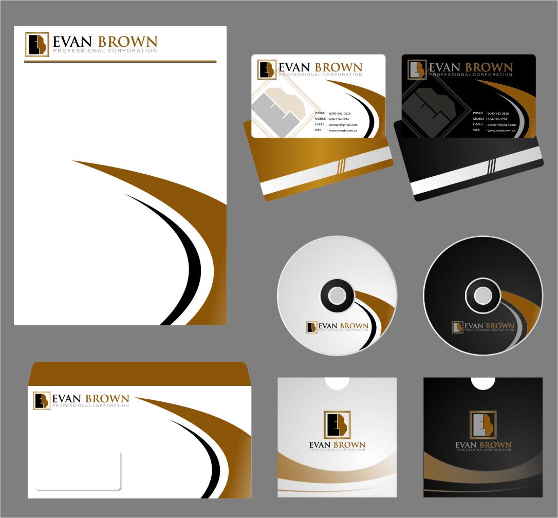 Logo Design by RasYa Muhammad Athaya - Entry No. 169 in the Logo Design Contest Inspiring Logo Design for Evan Brown Professional Corporation.
