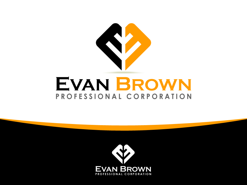 Logo Design by Richard Soriano - Entry No. 170 in the Logo Design Contest Inspiring Logo Design for Evan Brown Professional Corporation.