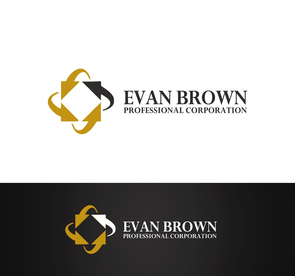 Logo Design by Respati Himawan - Entry No. 171 in the Logo Design Contest Inspiring Logo Design for Evan Brown Professional Corporation.
