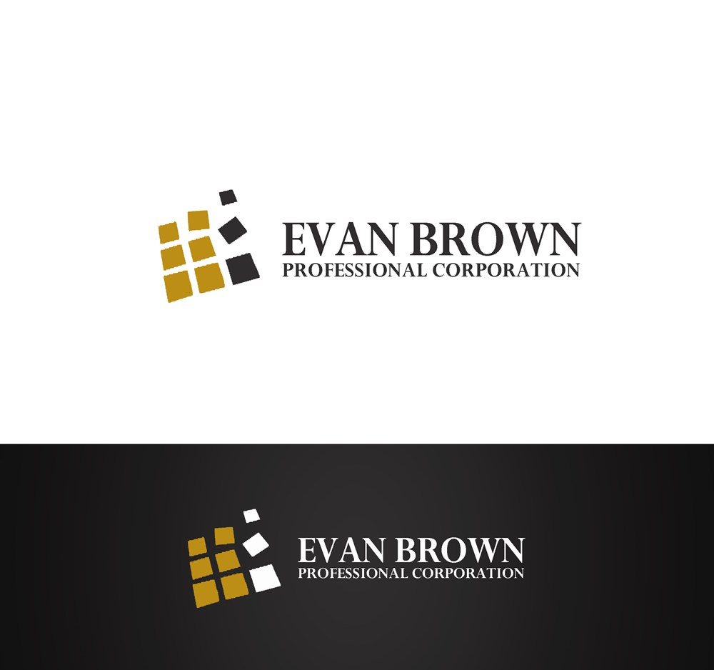 Logo Design by Respati Himawan - Entry No. 172 in the Logo Design Contest Inspiring Logo Design for Evan Brown Professional Corporation.
