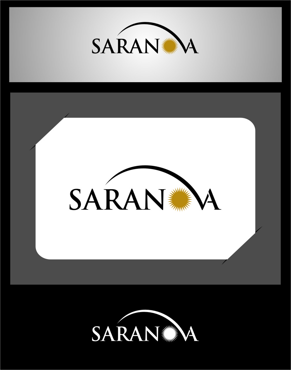 Logo Design by Ngepet_art - Entry No. 1 in the Logo Design Contest Artistic Logo Design for Saranova.