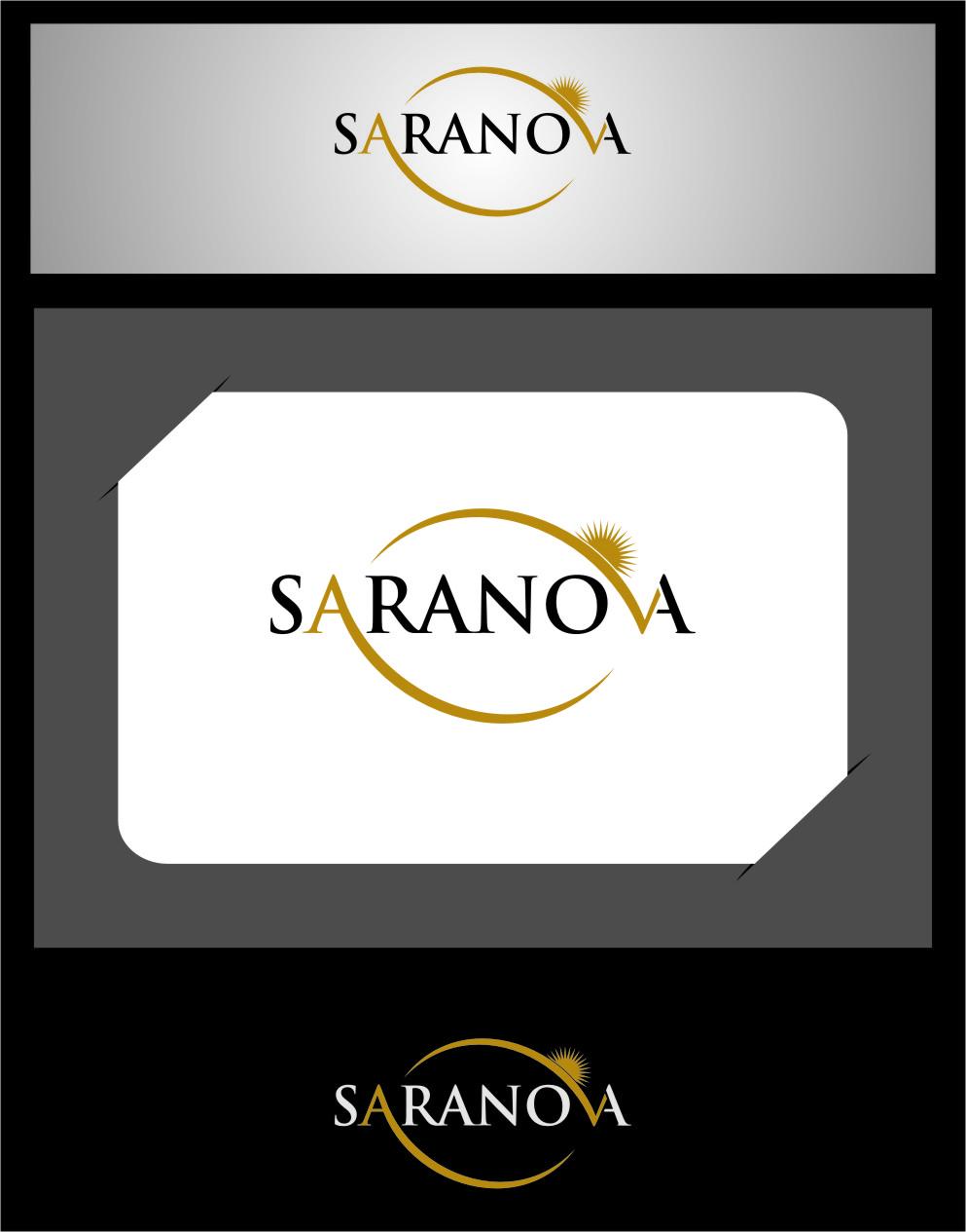 Logo Design by Ngepet_art - Entry No. 2 in the Logo Design Contest Artistic Logo Design for Saranova.