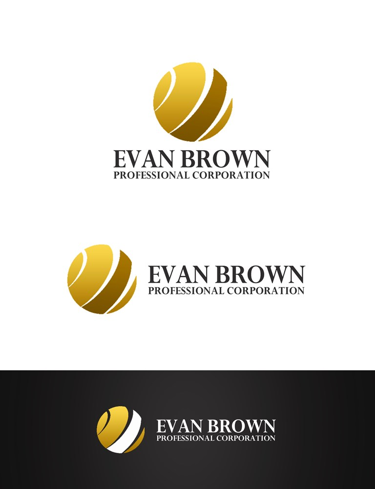 Logo Design by Respati Himawan - Entry No. 173 in the Logo Design Contest Inspiring Logo Design for Evan Brown Professional Corporation.