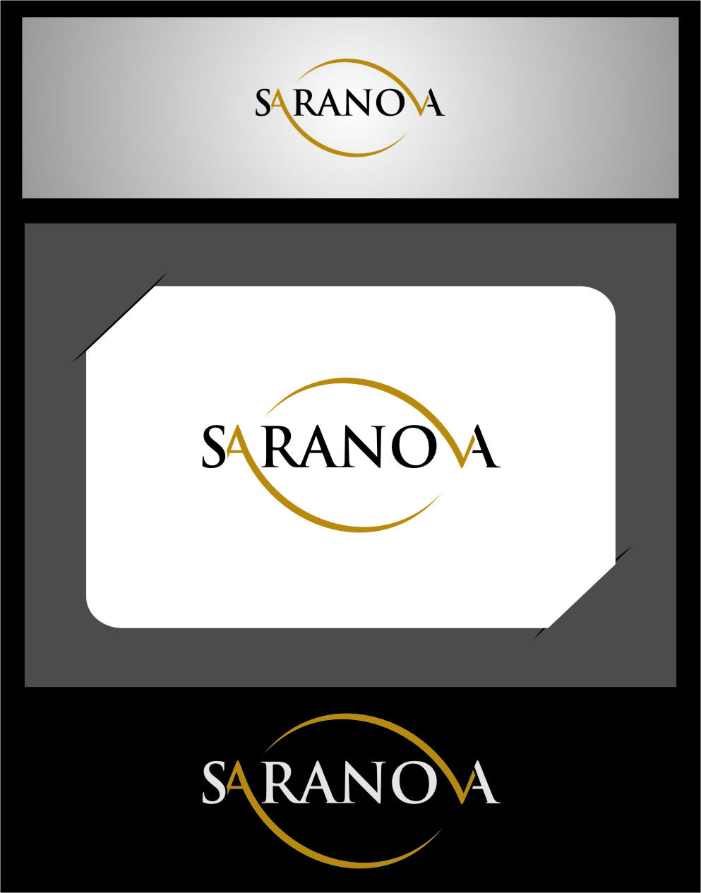 Logo Design by Ngepet_art - Entry No. 3 in the Logo Design Contest Artistic Logo Design for Saranova.