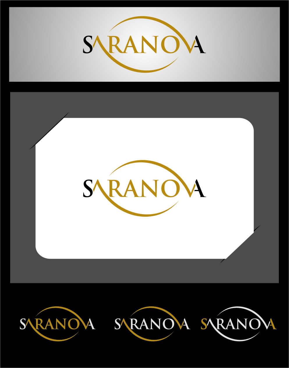 Logo Design by RasYa Muhammad Athaya - Entry No. 4 in the Logo Design Contest Artistic Logo Design for Saranova.